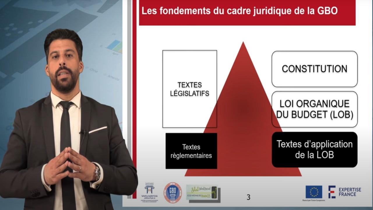 Les fondements et les orientations du nouveau cadre juridique de la GBO